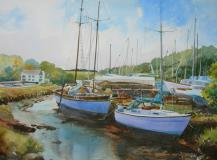 The boatyard, Gweek, Cornwall